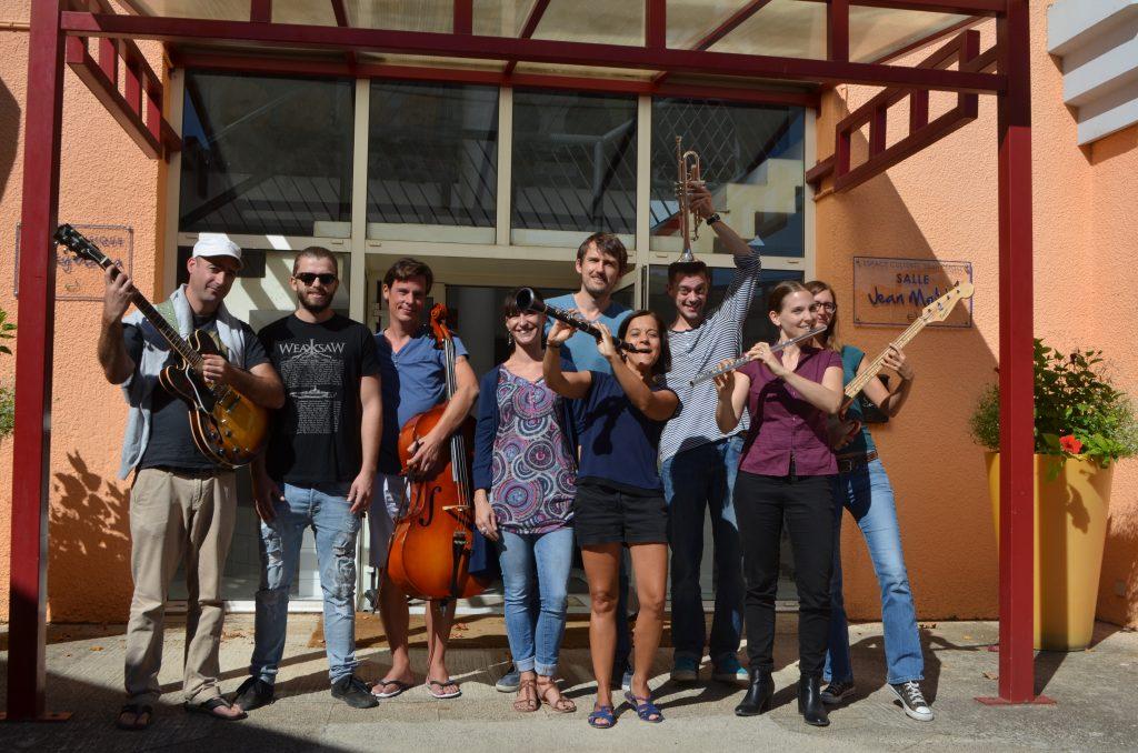 Les professeurs de l'école de musique de Clapiers
