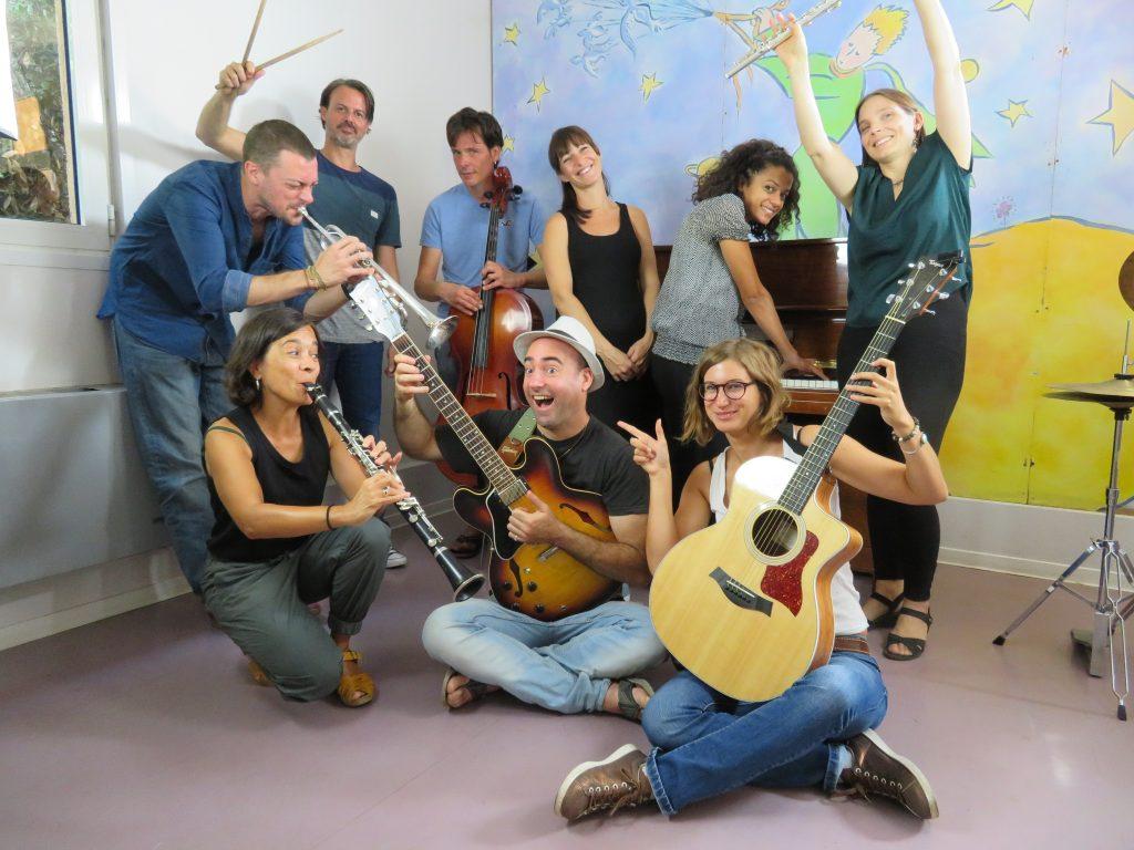 Les professeurs de l'école de musique