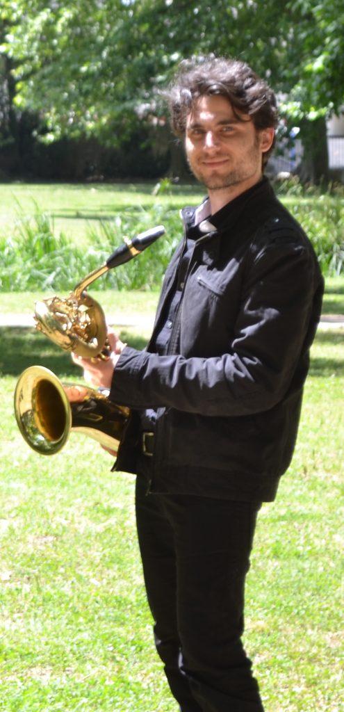 Renaud Felix, professeur de saxophone